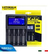 Caricabatteria LiitoKala 18650 3.7V 26650 Batteria Universale LCD AA AAA Ricaricabile