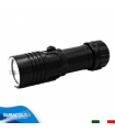 Torcia Subacquea di Backup, Modello L1 Small, LED XM-L2 U2, 1000 Lm