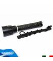 Torcia Subacquea Primaria, Modello L3 Small, 3 LED XM-L2 U2, 1500 Lm