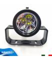 Torcia Subacquea Primaria, Modello L-3 Mono, Maniglia Goodman, LED XM-L2 U2, 2000 Lm