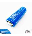 Batteria Hi-Max 26650 4000 mAh 3.7 V al Litio Ricaricabile con PCB di Protezione