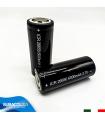 Batteria 26650 6000 mAh 3.7 V al Litio Ricaricabile