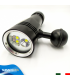 Torcia Subacquea per Foto e Video, Modello L5, 4 LED XM-L2 U2, 1500 Lm