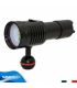 Torcia Subacquea per Foto e Video, Modello L4 Photo, 4 LED XP-G2, 1500 Lm