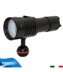 Torcia Subacquea per Foto e Video, Modello L4 Photo, 4 LED XP-G2, 1500 Lm